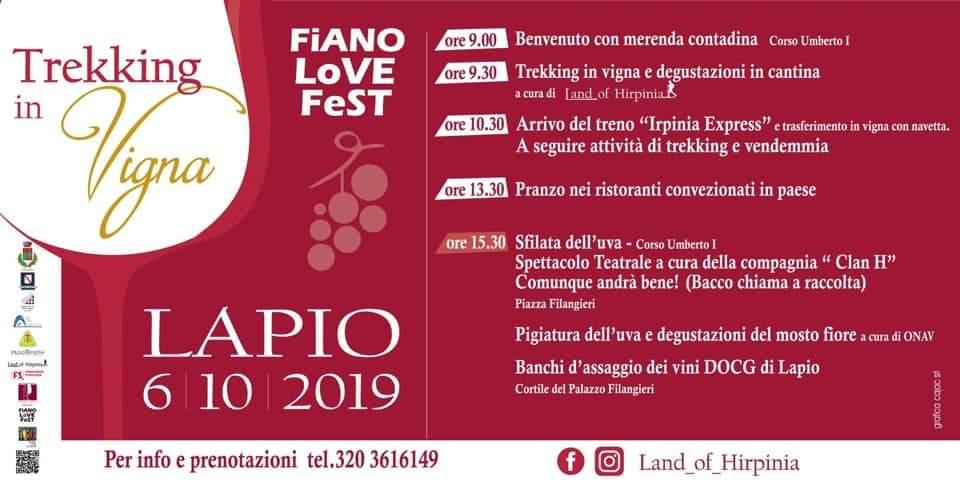 """ Trekking Vigna"" a Lapio (AV) – 6 ottobre 2019"
