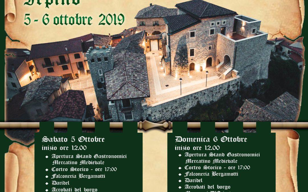""""""" Ritorno al Medioevo"""" a Cassano Irpino (AV) 5-6 ottobre 2019"""