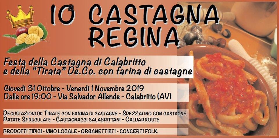 """"""" 10° Castagna Regina"""" a Calabritto (AV) 31 ottobre-1 novembre 2019"""