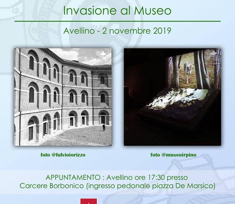 """"""" Invasioni Irpine alla scoperta dell'Irpinia"""" al Carcere Borbonico di Avellino il 2 novembre 2019"""