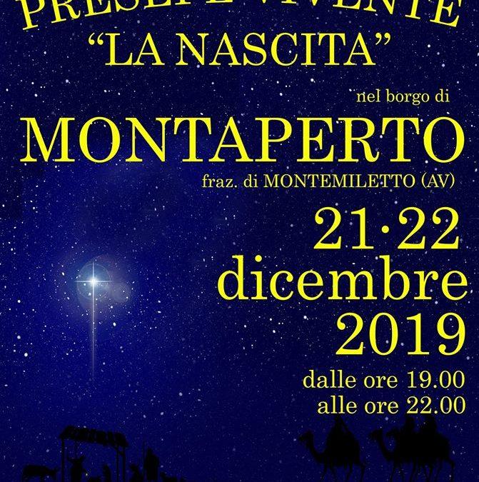 """Presepe Vivente"" 21-22 dicembre 2019 a Montaperto fraz.Montemiletto (AV)"