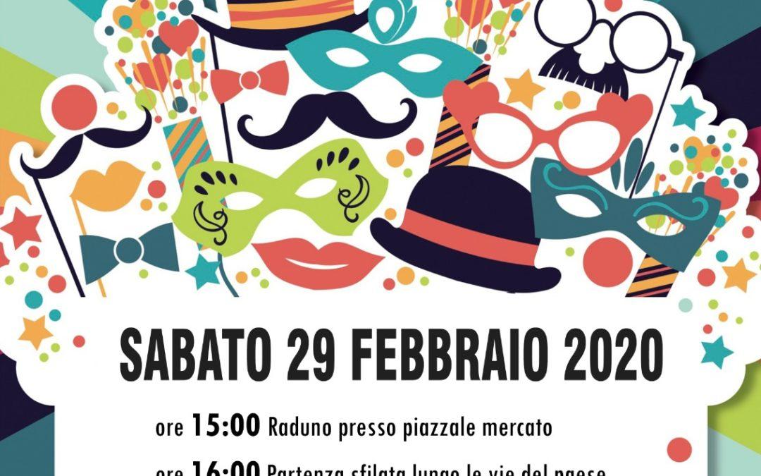 """""""Il Carnevale Torellese"""" il 29 febbraio 2020 a Candriano (AV)"""