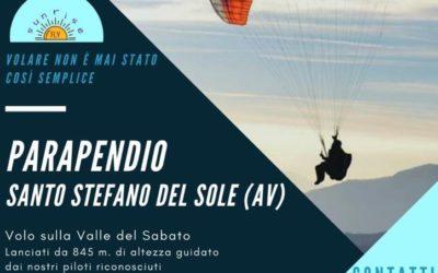 """""""Parapendio"""" nei giorni 8-9 agosto 2020 a Santo Stefano del Sole"""