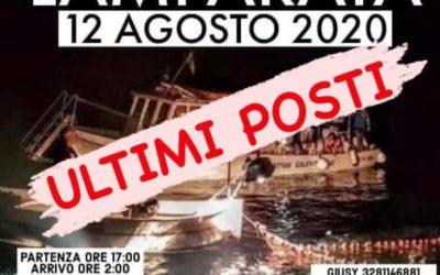 """""""Lamparata"""" partenze da Lioni-Caposele-Materdomini-Pontesele- Ex Aquila Nera il 12 agosto 2020"""