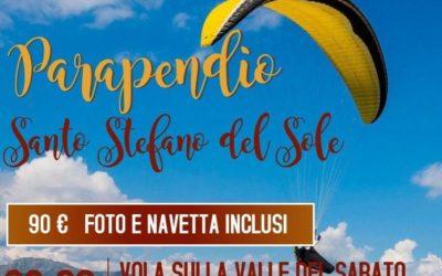 """""""Parapendio"""" nei giorni 22 e 23 agosto 2020 a Santo Stefano del Sole"""