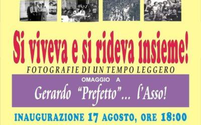 """""""Inaugurazione mostra di fotografie"""" in Corso Vittorio Emanuele-Portico della Pro Loco il 17 agosto 2020 alle ore 18:00 a Sant'Angelo dei Lombardi"""