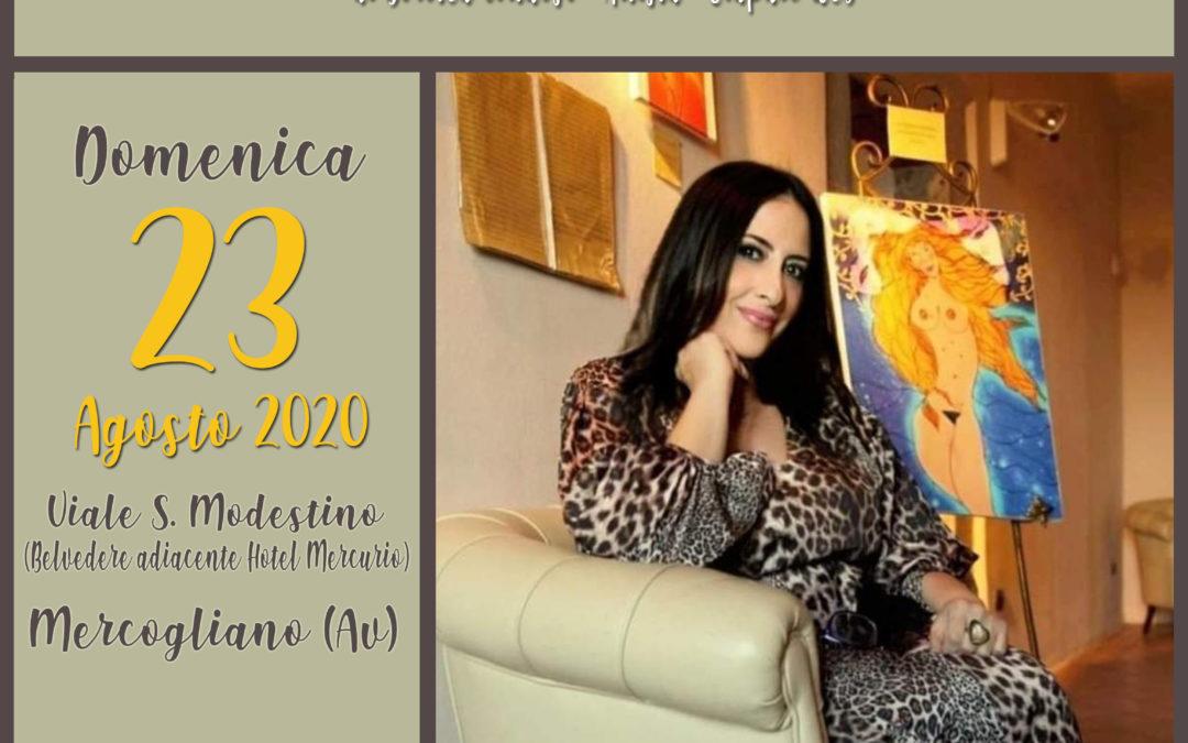 """Mostra d'arte """"I volti di Dorotea Virtuoso"""" il 23 agosto 2020 al Viale di San Modestino di Mercogliano"""